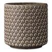 Janise Ceramic Pot Planter - Color: Nougat - Mistana Planters