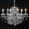 Mc Gowan Rutherford 6 Light Candle Chandelier
