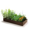 2 ft x 4 ft Composite Wood Raised Garden - DFOmer Planters