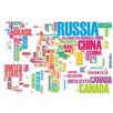 RetailSource Imagineer World of Words Wall Decal
