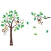 RetailSource Tree of Monkey Pals Wall Decal