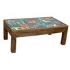 TheWoodTimes Letters Coffee Table