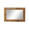 TheWoodTimes Rustic Wall Mirror