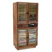 TheWoodTimes Hide 4 Door, 2 Drawer Cabinet