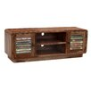TheWoodTimes Hide TV Stand for TVs up to 140''