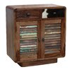 TheWoodTimes Hide 2 Doors, 2 Drawer Chest