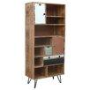 TheWoodTimes Living 2 Door, 3 Drawer Cabinet
