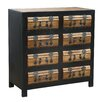 TheWoodTimes Chateau 8 Drawer Chest