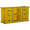 TheWoodTimes Container 2 Door, 2 Compartment Chest