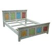 TheWoodTimes Crayon Panel Bed