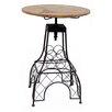 Vandue Corporation Parisian Eiffel Tower 3 Piece Adjustable Height Pub Table Set