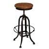Borough Wharf Carson Adjustable Bar Stool