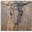 Borough Wharf Ox Brass Graphic Art on Canvas