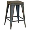 Borough Wharf Orinda Metal Decorative Stool