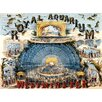 Borough Wharf Royal Aquarium Vintage Advertisement