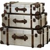 Borough Wharf San Marino 3 Piece Storage Chest Set