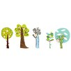 Pop & Lolli Enchanted Forest Trees Wall Decals