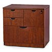 WIS Furniture Group 4-Drawer Combo Lateral File