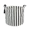 Pipols Bazaar Striped Hamper