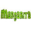 My Amigos Imports Margarita Recycled Metal Sign Wall Decor
