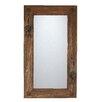 My Amigos Imports Old Door Rustic Mirror