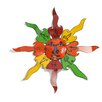 My Amigos Imports Recycled Metal Sun Wall Decor