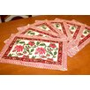 HOMESTEAD J.E.GARMIRIAN AND SON INC Pretty In Pink Placemat (Set of 6)