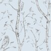 NuWallpaper Woods 5.48m L x 52cm W Foiled Roll Wallpaper