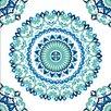 NuWallpaper Geometrische, folierte Tapete Jasmine Medaillon 548 cm L x 52 cm B
