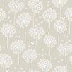 NuWallpaper Botanische, folierte Tapete Dandelion 548 cm L x 52 cm B