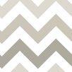 NuWallpaper Folierte Tapete Chevron 548 cm L x 52 cm B