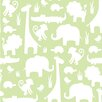 NuWallpaper It's a Jungle in Here 5.48m L x 52cm W Foiled Roll Wallpaper