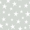 NuWallpaper Stardust Twinkling Grey 5.48m L x 52cm W Roll Wallpaper