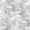 NuWallpaper Metropolis Cityscape 5.48m L x 52cm W Roll Wallpaper