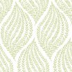 NuWallpaper Fern 5.49m L x 52cm W Roll Wallpaper