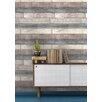 NuWallpaper Reclaimed Wood Plank 5.49m L x 52cm W Roll Wallpaper