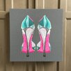 Amoloulou Shoe by Amoloulou Art Print Wrapped on Canvas
