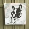 Amoloulou French Bulldog by Amoloulou Graphic Art Wrapped on Canvas