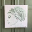 Amoloulou Bardot by Amoloulou Art Print Wrapped on Canvas