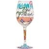 Lolita Best Friends Always All Purpose Wine Glass