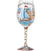 Lolita Anchor's Away All Purpose Wine Glass