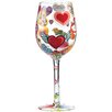 Lolita Heart-rageous All Purpose Wine Glass
