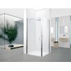 Novellini Young 200cm x 96cm Hinged Shower Door
