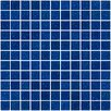 "Susan Jablon 1"" x 1"" Glass Mosaic Tile in Cobalt Blue"