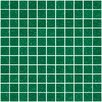 "Susan Jablon 1"" x 1"" Glass Mosaic Tile in Emerald Green"