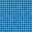 """Susan Jablon Architect's Overstock 0.75"""" x 0.75"""" Glass Mosaic Tile in Turquoise Blue"""
