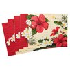 TSC Giftables Hibiscus Blossom Placemat (Set of 4)