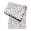 Esteffi Diamond Wool Blend Baby Blanket