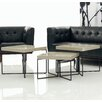A&J Homes Studio Villa 3 Piece Coffee Table Set
