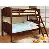 A&J Homes Studio Azalea Twin Over Twin Bunk Bed